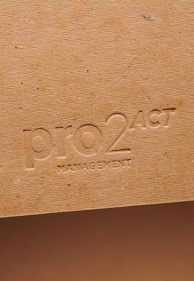 Carte de voeux Pro2act